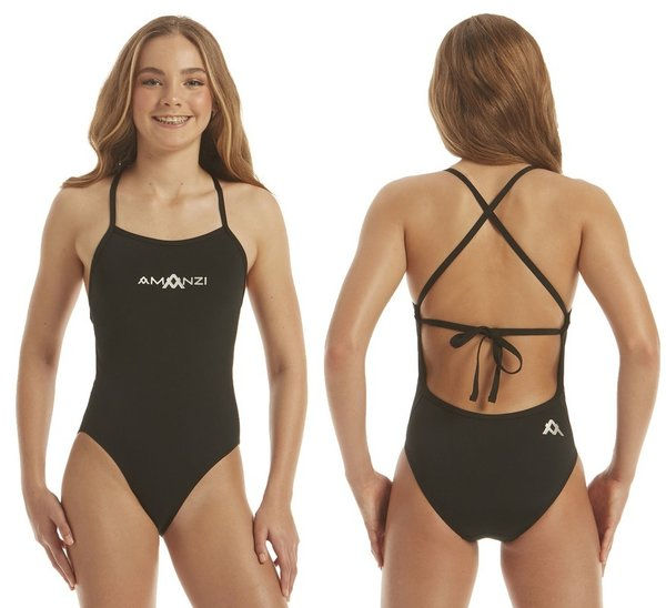 AMANZI Girls Jet Tie Back One Piece